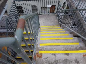 Front St. Parkade Steps With ASC625 and ASC700 (4)